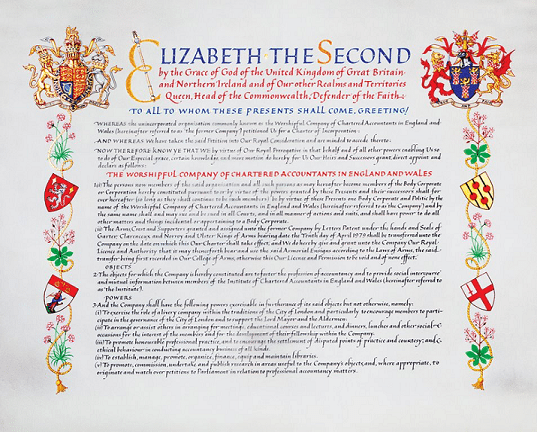 The Company's Royal Charter