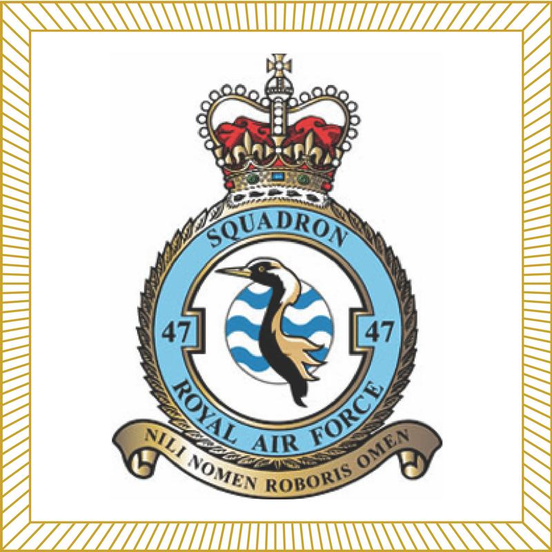 47 Squadron RAF Badge