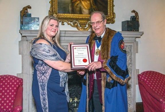 PhD award