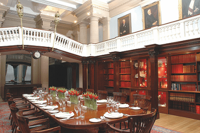 The Members' Room at Chartered Accountants' Hall